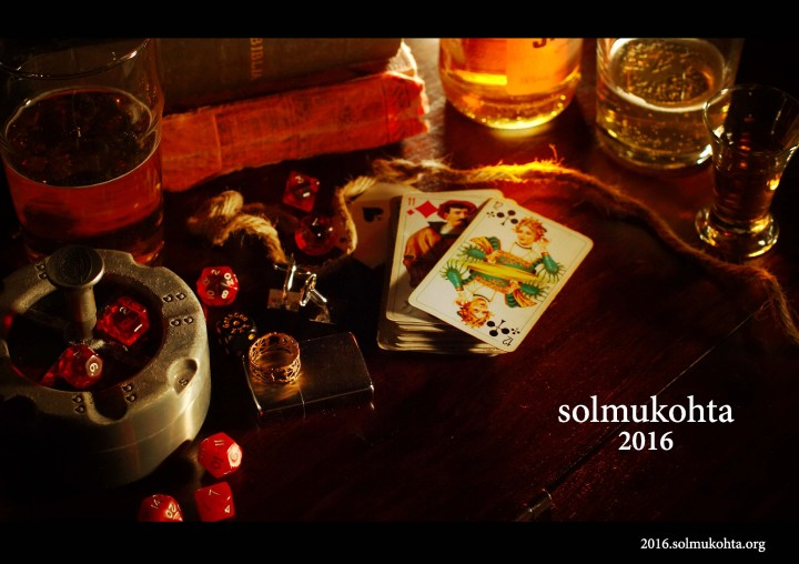 Ship Ahoy! Mark your calendar for Solmukohta 2016!